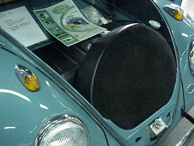 Volkswagen Kever Bekleding & interieur Reservewielhoes - Hot Rod Webshop